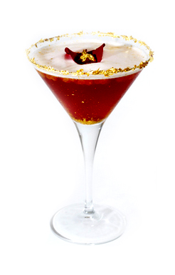Golden Kiss Cocktail