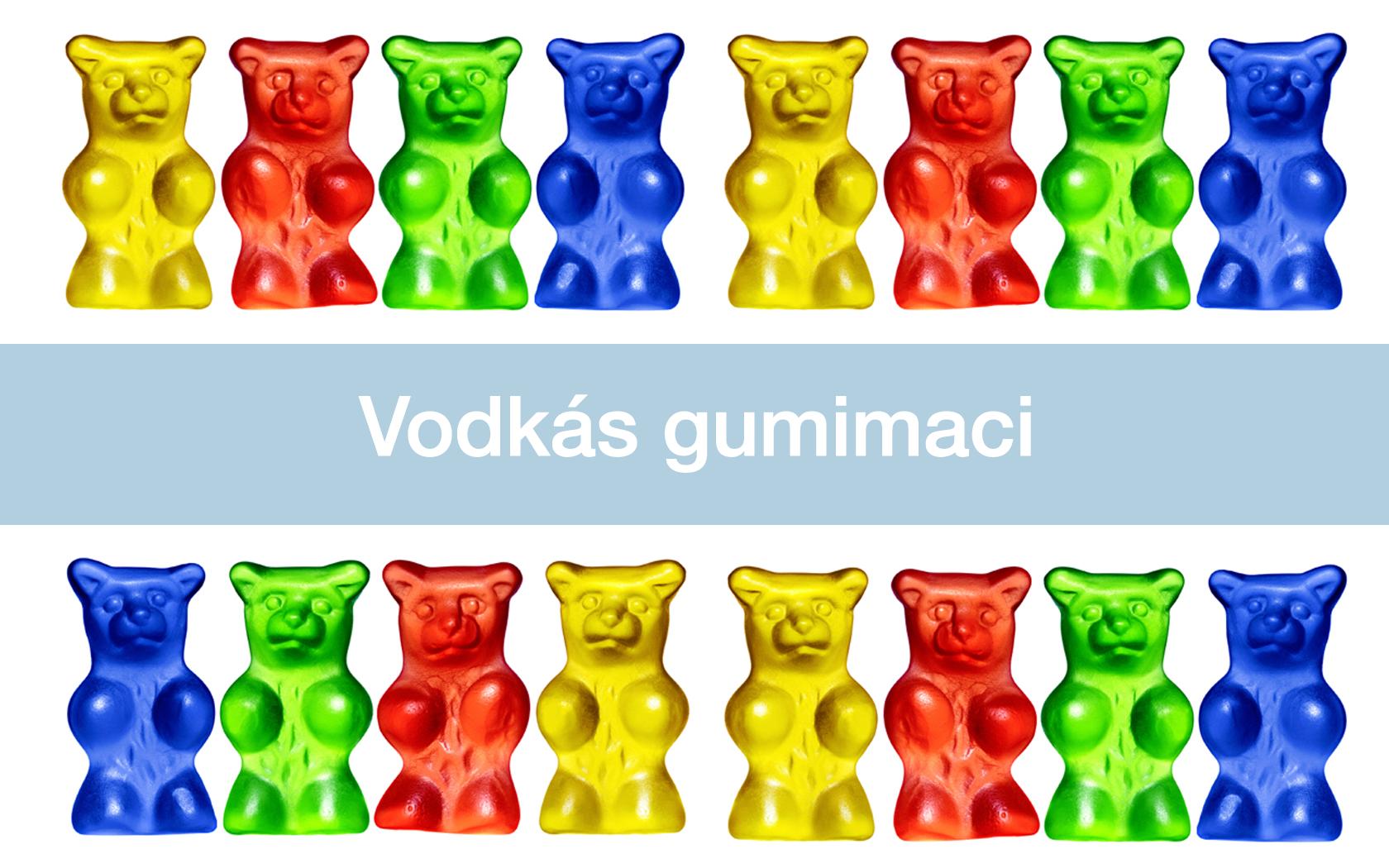 Vodkás gumimacik recept